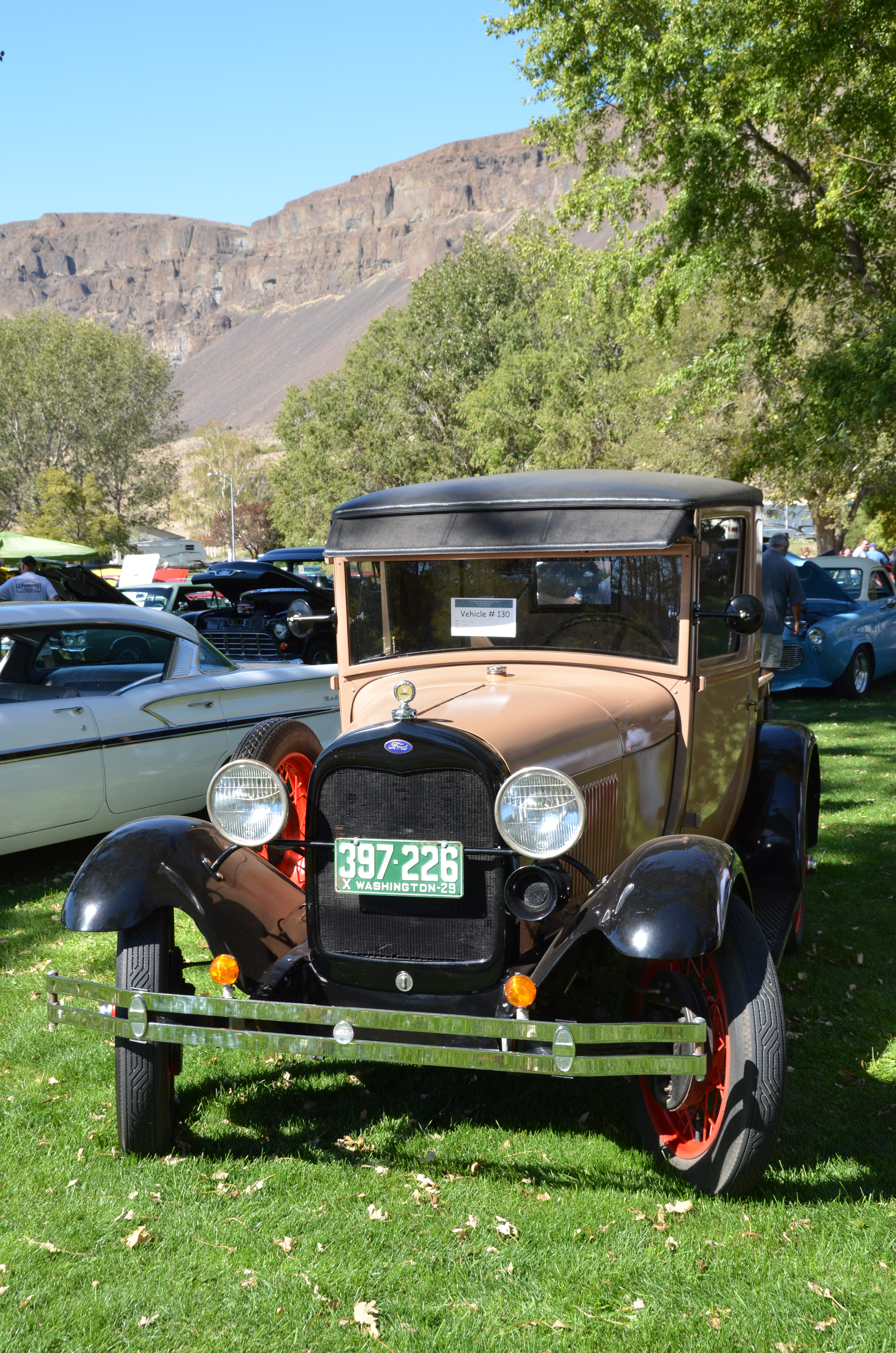 Sun Lakes Park Resort - Car show pics